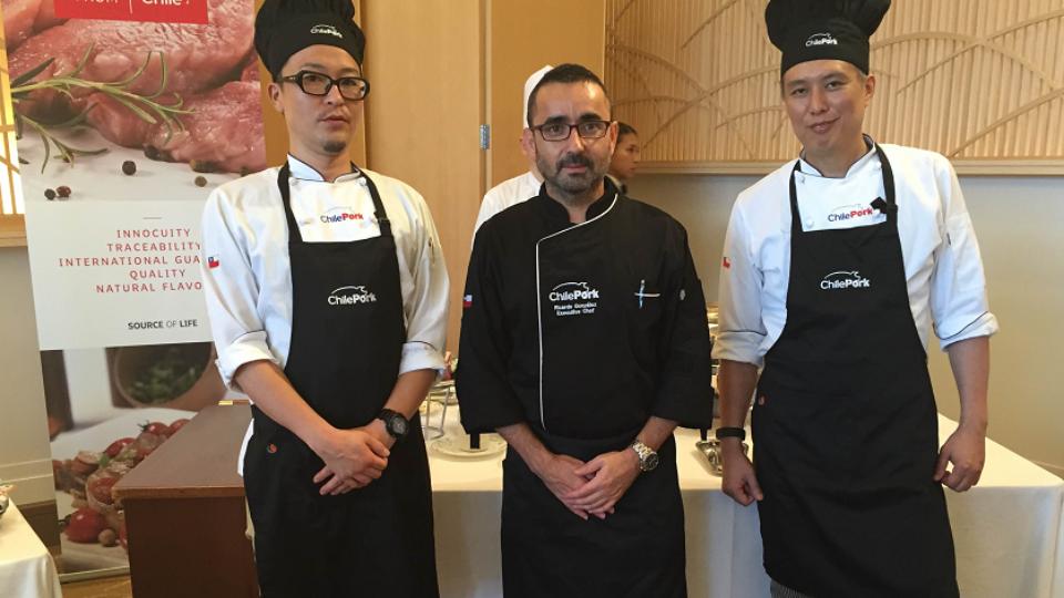 "ChilePork promueve carne de cerdo chilena en ""Food, Wine and Travel"" en Japón"