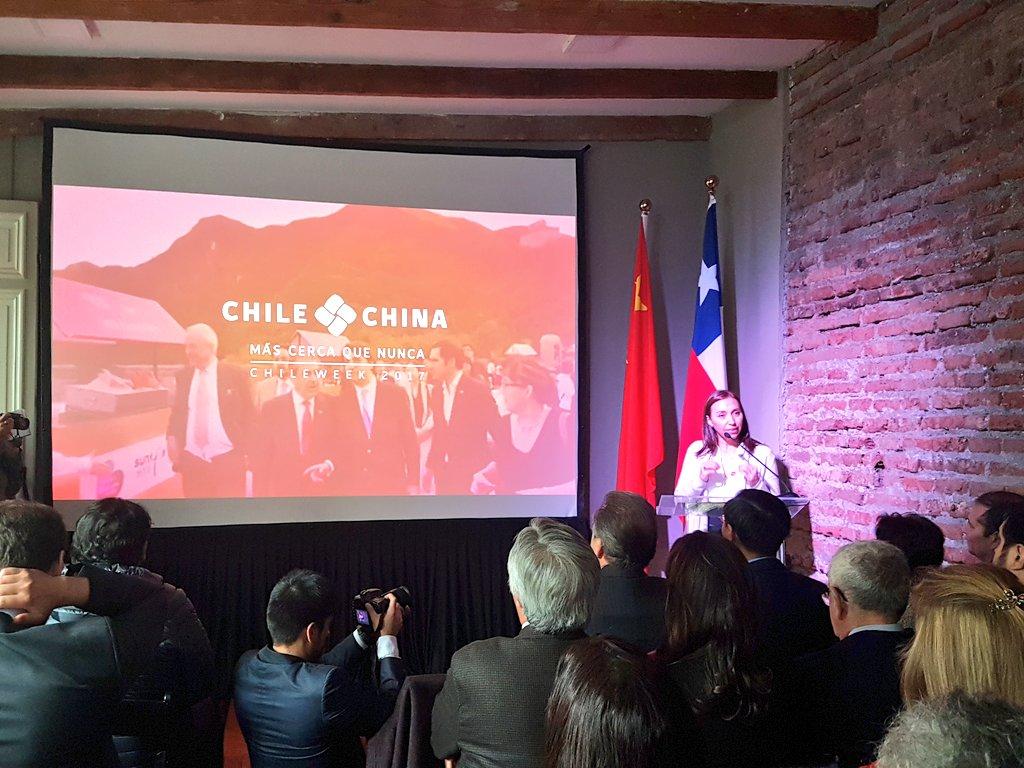 La directora de Direcon, Paulina Nazal, destacó los hitos alcanzados entre Chile y China en estos 47 años de relaciones diplomáticas y 11 años de Tratado de Libre Comercio.