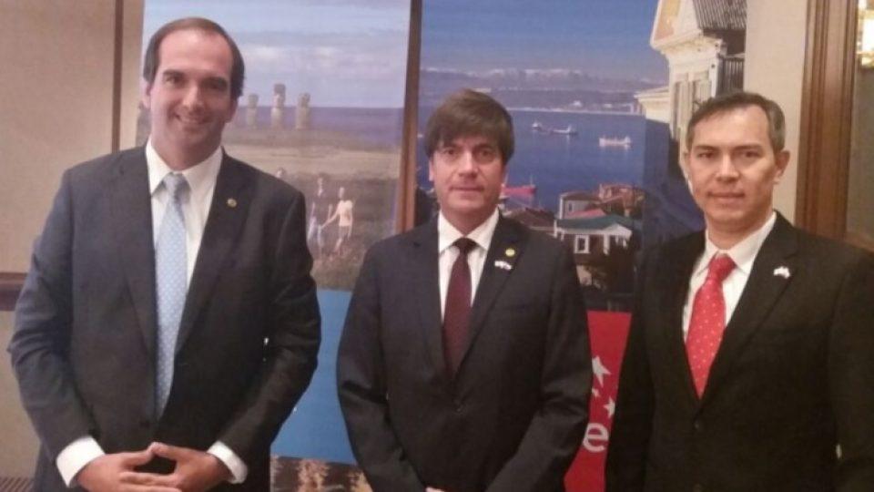 El cerdo chileno fue uno de los protagonistas del almuerzo del Encuentro Empresarial en la gira oficial de la Presidenta Michelle Bachelet a Japón