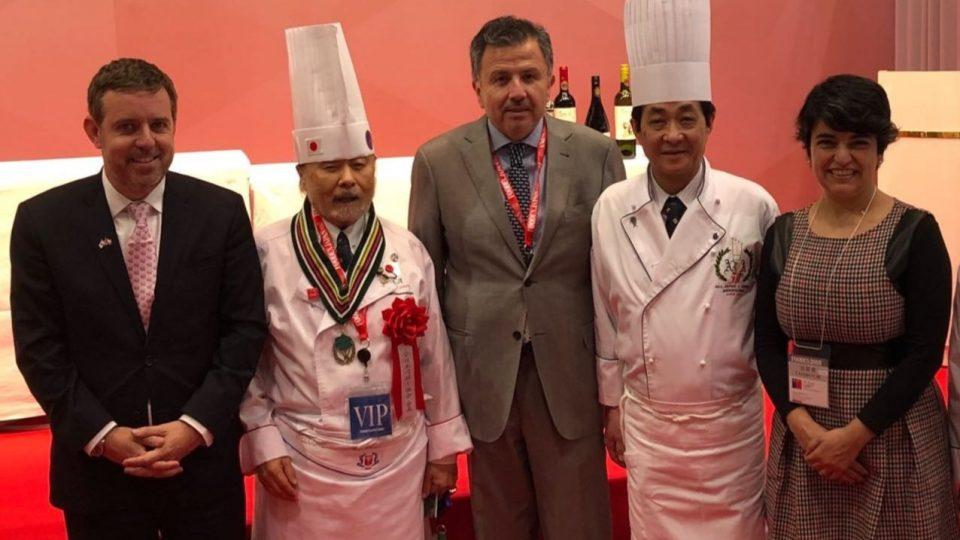 Coexca brilla en Feria Foodex Japan 2018 con innovadora carne de cerdo en base a vino
