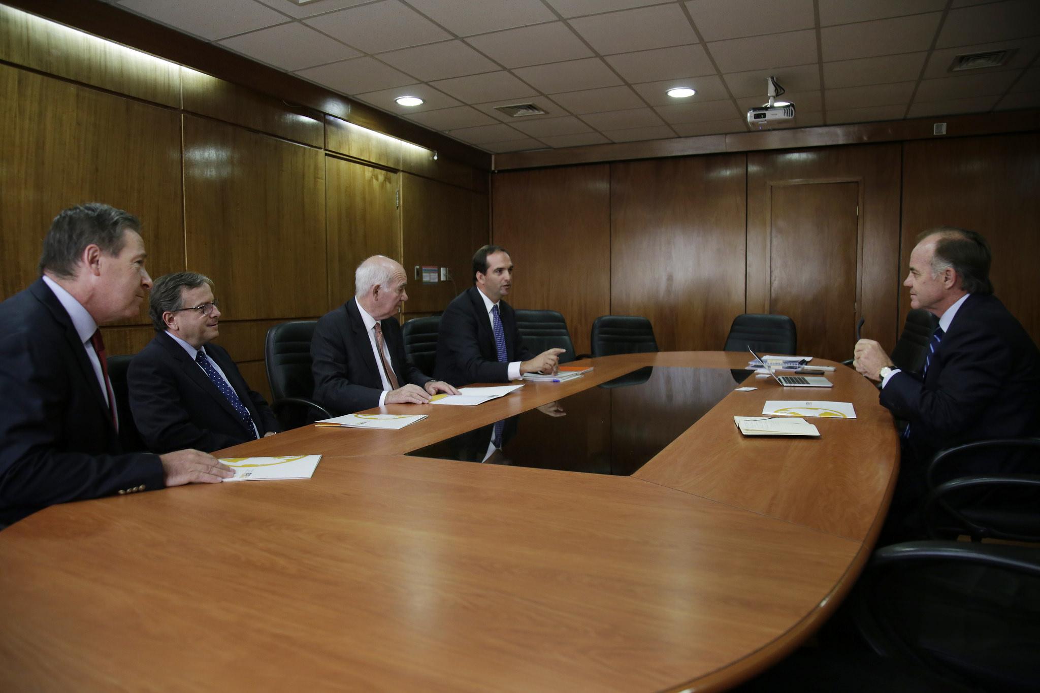 Juan Carlos Domínguez, Juan Lyon, José Guzmán, José Manuel Allende, Antonio Walker