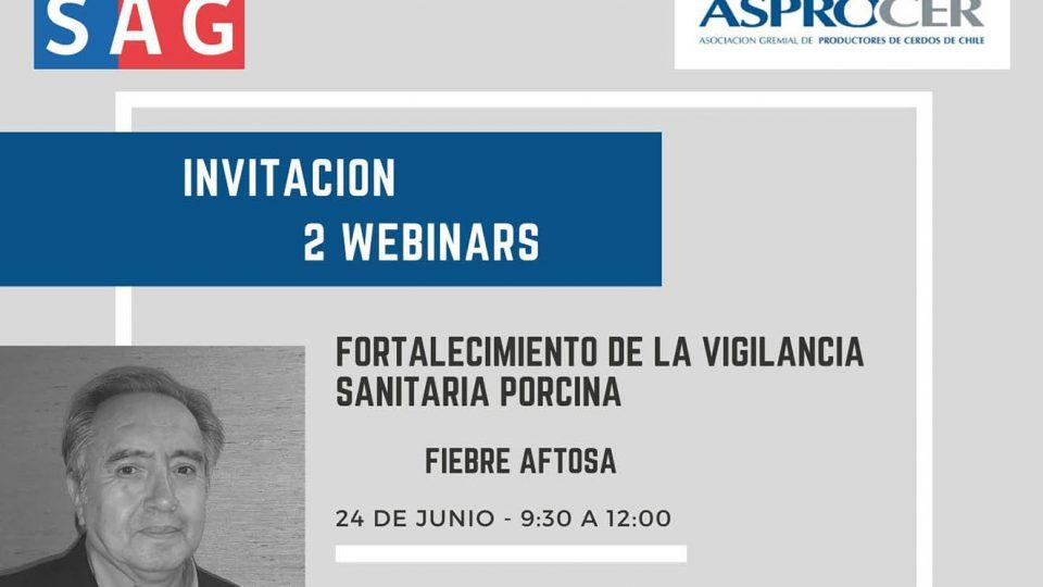 Webinar Asprocer y SAG: Fortalecimiento de la vigilancia sanitaria porcina – Fiebre Aftosa, por José Naranjo