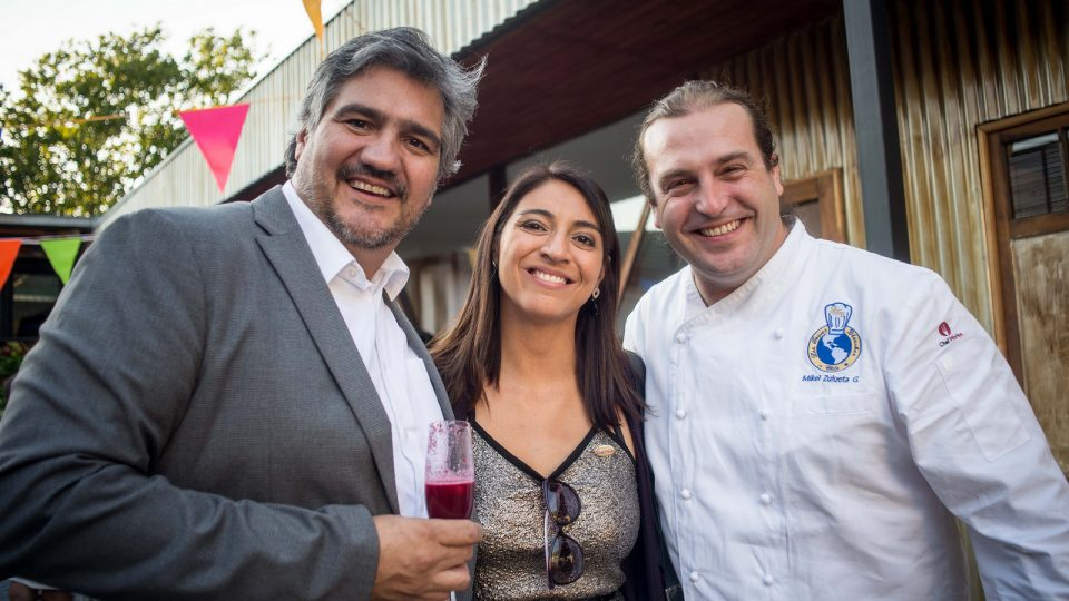 Chilean pork stood out at ProChile's Cooking Show for national and foreign journalists