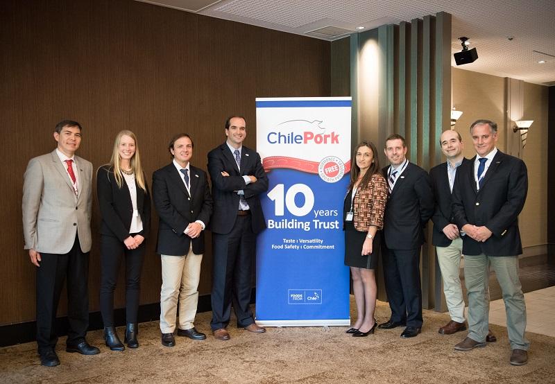 Team ChilePork in Japan