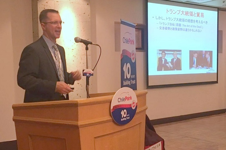 International speaker Brett Stuart talked about the economic situation and its impact on the sector, mentioning variables such as the growth of demand in China and the impact of the new government in the USA.