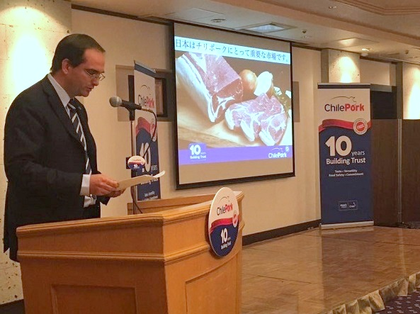 The President of ChilePork, Juan Carlos Domínguez, stressed that the prestige and positioning of Chilean pork in the market is no accident.