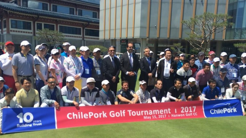 ChilePork celebrates 10 years in the Republic of Korea with a Golf Tournament, Seminar, and Cooking Show